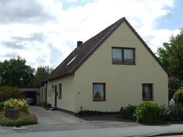 Haus der Familie Stührk, die Ferienwohnung liegt im Obergeschoss
